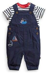 ВNWT NEXT Babygrows Trouthers  Boat Appliqué Dungarees amp Bodysuit  Cotton 36m - London, United Kingdom - ВNWT NEXT Babygrows Trouthers  Boat Appliqué Dungarees amp Bodysuit  Cotton 36m - London, United Kingdom