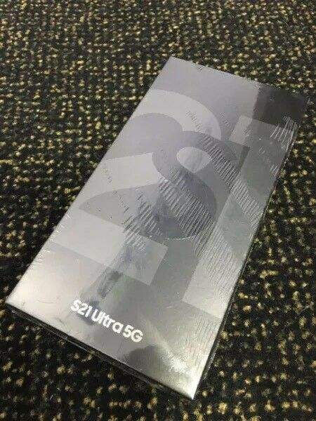 BRAND NEW SEALED Samsung S21 Ultra 256GB for sale With Warranty!