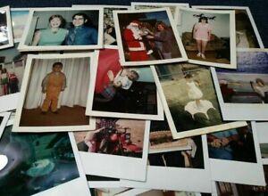 Lot-of-50-Random-POLAROID-Found-Photos-amp-Vintage-Snapshots-Mixed-Subjects