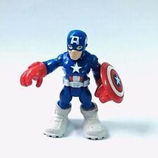 PlaySkool Heroes CAPTAIN AMERICA Marvel Super Hero Avengers Jungle Squad toy