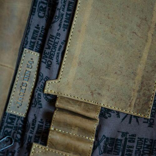 54 Ripper Leder Umhängetasche Lobotomie The Braun Messer mit Jack's Inn Jack Aqx5I