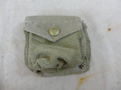 British ARMY WW2 1937 Webbing compass pouch Kompass Tasche
