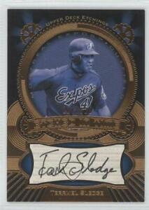 2004 Upper Deck Etchings Etched in Time /325 Terrmel Sledge #ET-TS Auto
