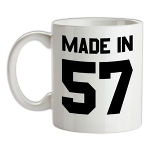 Made-in-039-57-Mug-62nd-Compleanno-1957-Regalo-Regalo-62-Te-Caffe