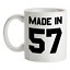 Made-in-039-57-Mug-62nd-Compleanno-1957-Regalo-Regalo-62-Te-Caffe miniatura 1