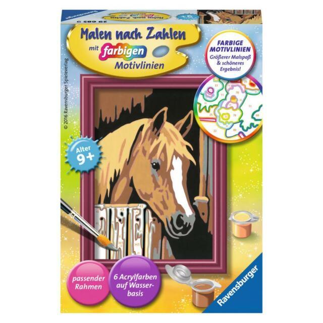 pferd im stall malen nach zahlen serie f 2020 game