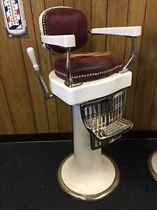 ... Antique Child 039 S Barber Chair By Koch
