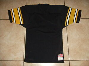 8778abd9 VINTAGE NOS Official NFL YOUTH Pittsburgh Steelers Football Jersey ...