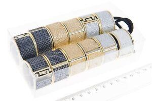 Angemessen Haarring Haargummi Ring Cleopatra Zopf Scrunchy Mit Strass Hair 100% Garantie Damen-accessoires