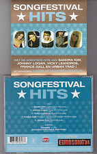 CD COLLECTOR 5T+1 VIDEO SONGFESTIVAL EUROVISION  SANDRA KIM/GALL/LEANDROS/LOGAN