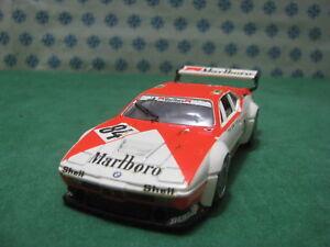 Vintage-BMW-M1-PROCAR-3500cc-Le-Mans-1980-1-43-Transkit-Solido