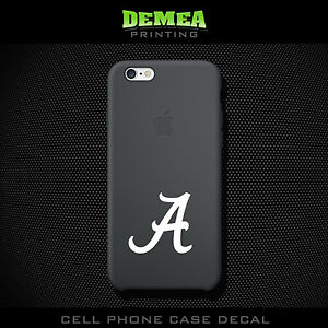 Alabama Cell Phone Vinyl Decal Sticker IPhone Choose Color - Vinyl decals for phone cases