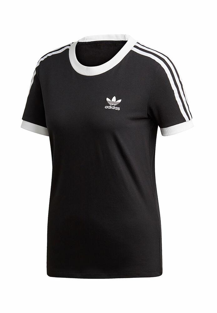 Adidas Originals T-shirt Femmes 3 Str T-shirt Ed7482 Noir