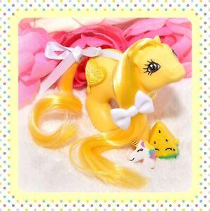 My-Little-Pony-MLP-G1-Vtg-Baby-Yellow-LEMON-OOAK-Custom-Pony-3D-Symbol