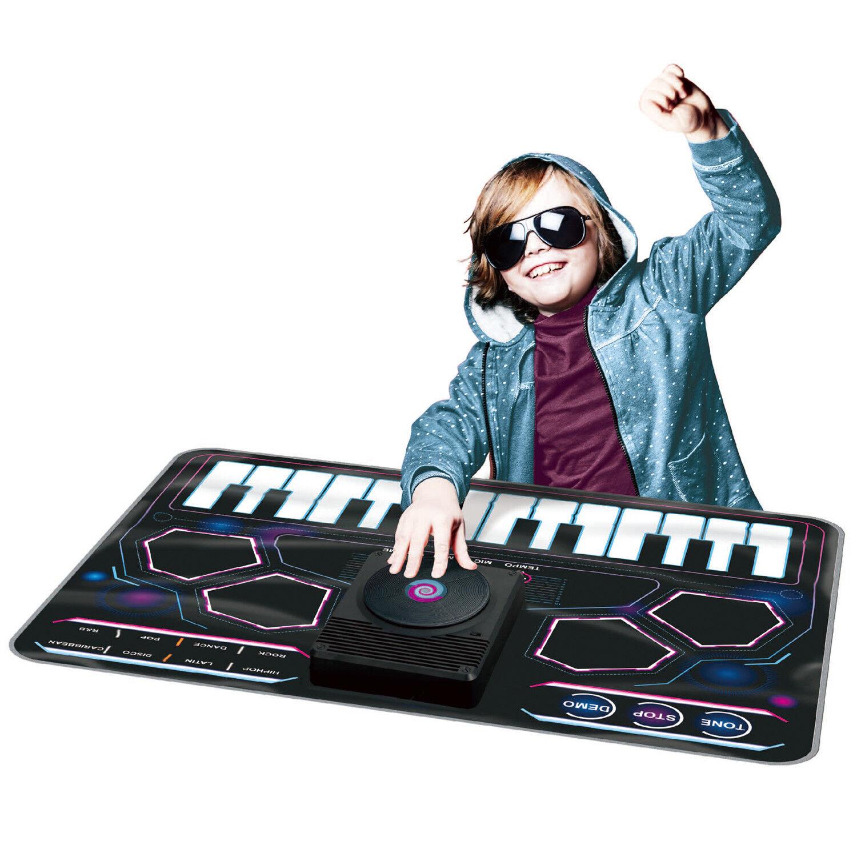 KIDS ELECTRONIC DJ STYLE MUSIC PLAY MAT MUSICAL TOUCH TUNE SOUND ART FUN PLAYMAT