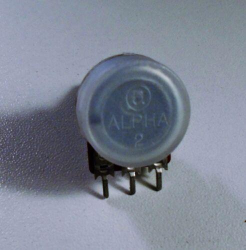 linéaire pour toutes guitares POTENTIOMETRE ALPHA B-50K SPLIT SHAFT axe 16mm