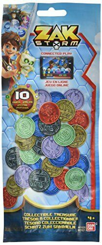 Pack of 10 Zak Storm Treasure COLLECTABLE Coins 41621