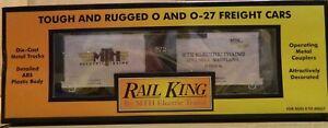 MTH-Rail-King-2008-MTH-Club-34-039-19th-Century-Box-Car-New-Ships-FREE-in-US