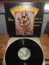 """Lalo Schifrin - BRUCE LEE """"Enter The Dragon"""" LP OST WB UK 1973"""
