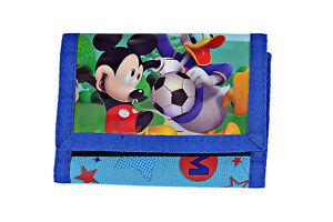 Donald Duck Und Micky Maus - Brieftasche Kind - Geldbeutel Original Disney