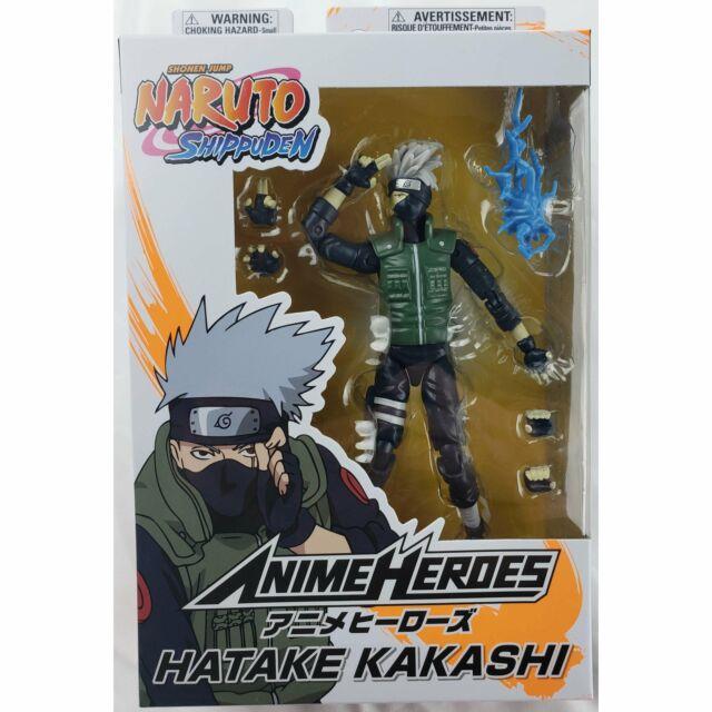 Bandai Anime Heroes Naruto Hatake Kakashi Action Figure