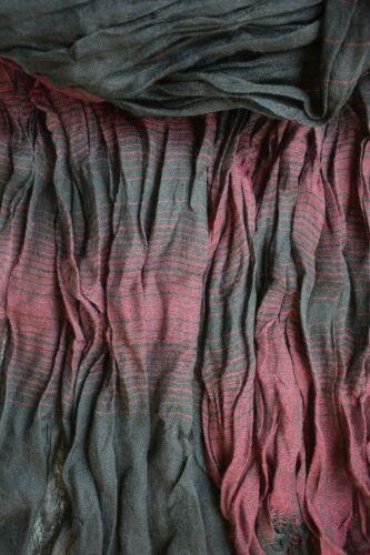 doux bordeaux noir Plus fragile Hommes écharpe Facile facile à nettoyer Crinkle