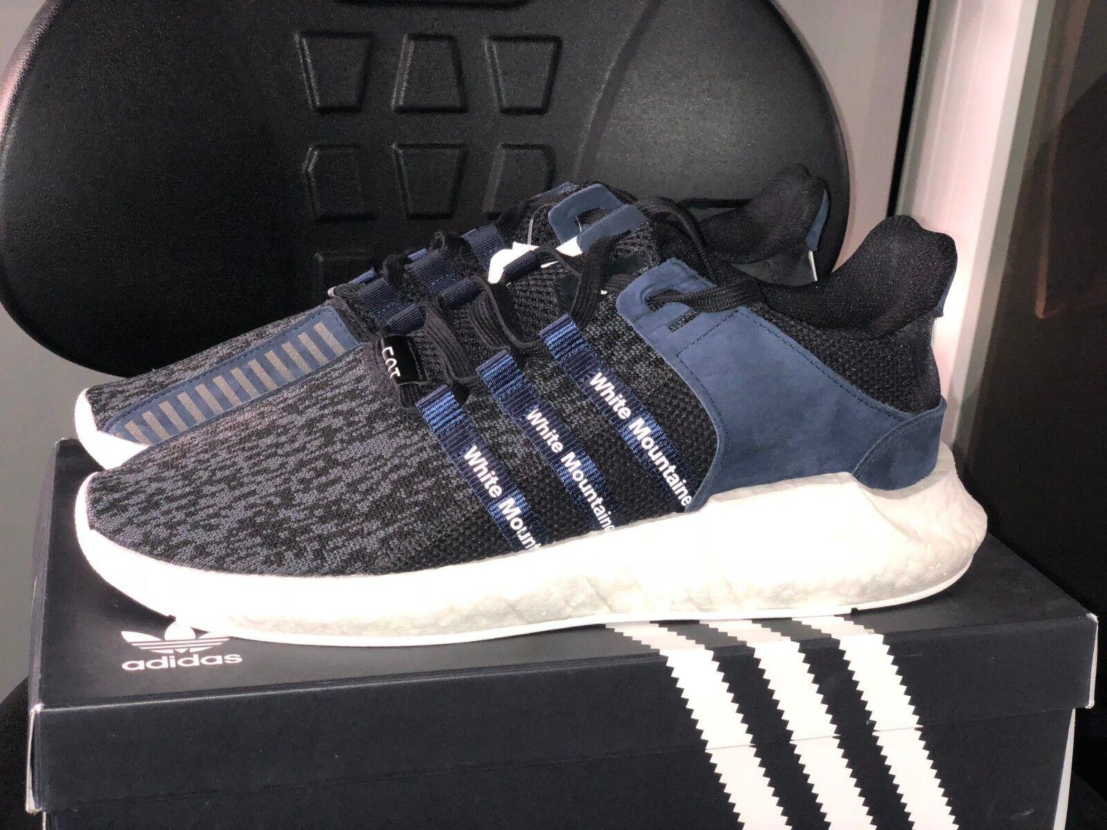 Adidas WM EQT Support Future blanc Mountaineebague Bleu Marine Noir BB3127 UK10