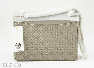 bf1c885843c5 Tory Burch BRYANT Quilted Leather Shoulder Bag Cross Body Messenger ...