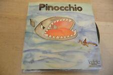 """PINOCCHIO di COLLODI-Fiaba su disco 45 giri VEDETTE 1978"""""""