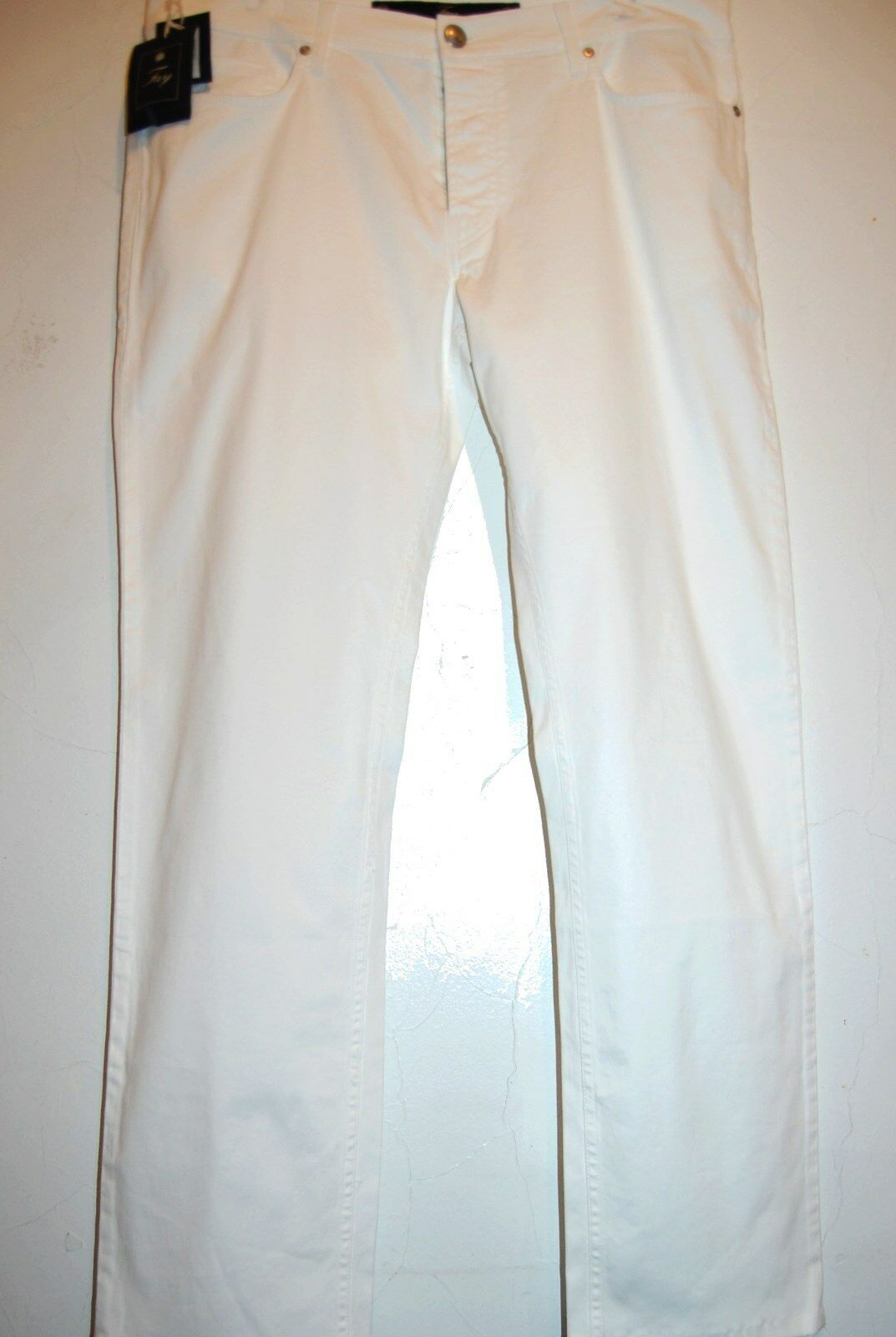 Fay White Men's Casual  Pants Trouser Size US 40  NEW