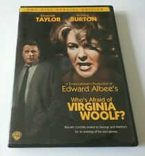 Who's Afraid of Virginia Woolf? (DVD, 2006, 2-Disc Set, Special Edition)**1966**
