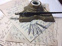 Vintage Pen Nibs -Lot Of 5- Spencerian Subway Stub, #39 Calligraphy Fountain Pen