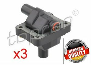 3xTOPRAN Ignition Coil 20157 Smart Cabrio City-Coupe Crossblade Fortwo (450)