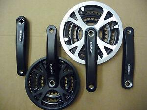 SR-Suntour-XCC-170mm-Crank-Chainset-New-48-38-28-or-42-32-22-Bicycle-Bike-MTB