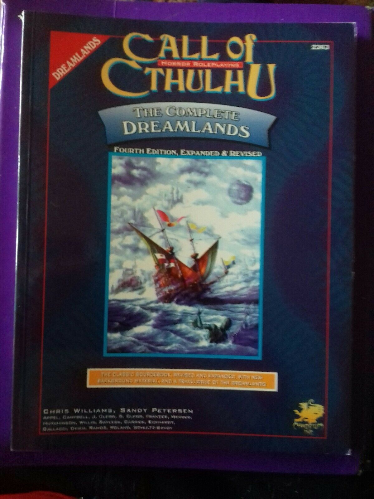 The Complete DREAMLANDS Call of Cthulhu COC Horreur RPG LIVRE Lovecraft