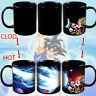 Dragon Ball SSJ Z Goku Vegeta Taza Heat Reaction Color Change Ceramic Coffee Cup