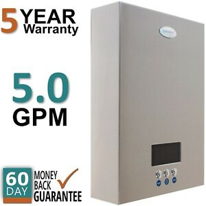 eco180 electric tankless hot water heater instant on demand whole house 5 gpm 689988857099 ebay. Black Bedroom Furniture Sets. Home Design Ideas