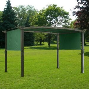 17x6-5Ft-Pergola-Canopy-Replacement-Cover-Outdoor-Yard-Patio-Green-UV20-180g