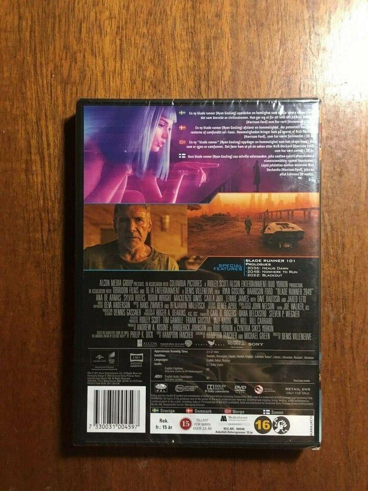 Blade Runner 2049, instruktør Denis Villeneuve, DVD