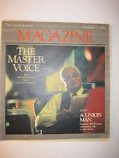 Louisville Courier Journal Magazine 1982: Hazard KY Coal Mines! UMW! Todd Duncan