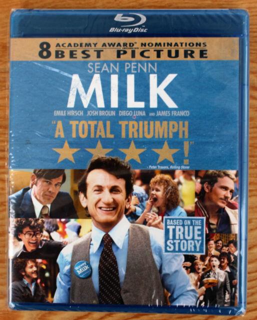 Milk (Canadian Blu Ray) Region A