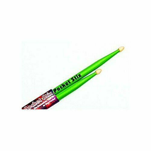 Alien Green Drumsticks Youth Kids Children Pocket Stix 11 5A Drum Sticks Pair