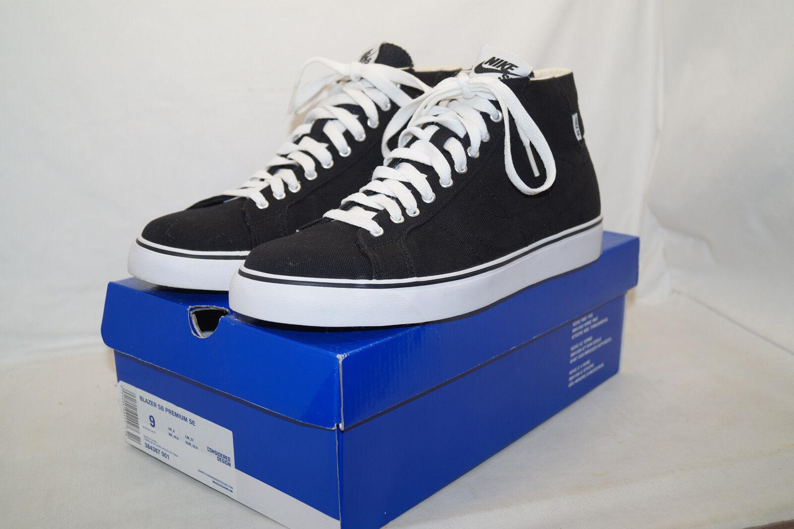 Nike BLAZER SB PREMIUM SE  HUF CITY DIRTBAGS  Gr 42,5 UK 8 schwarz 384387 001    | Outlet Store
