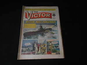 VICTOR Comic - Issue 251- Date 11/12/1965 - UK Paper Comic
