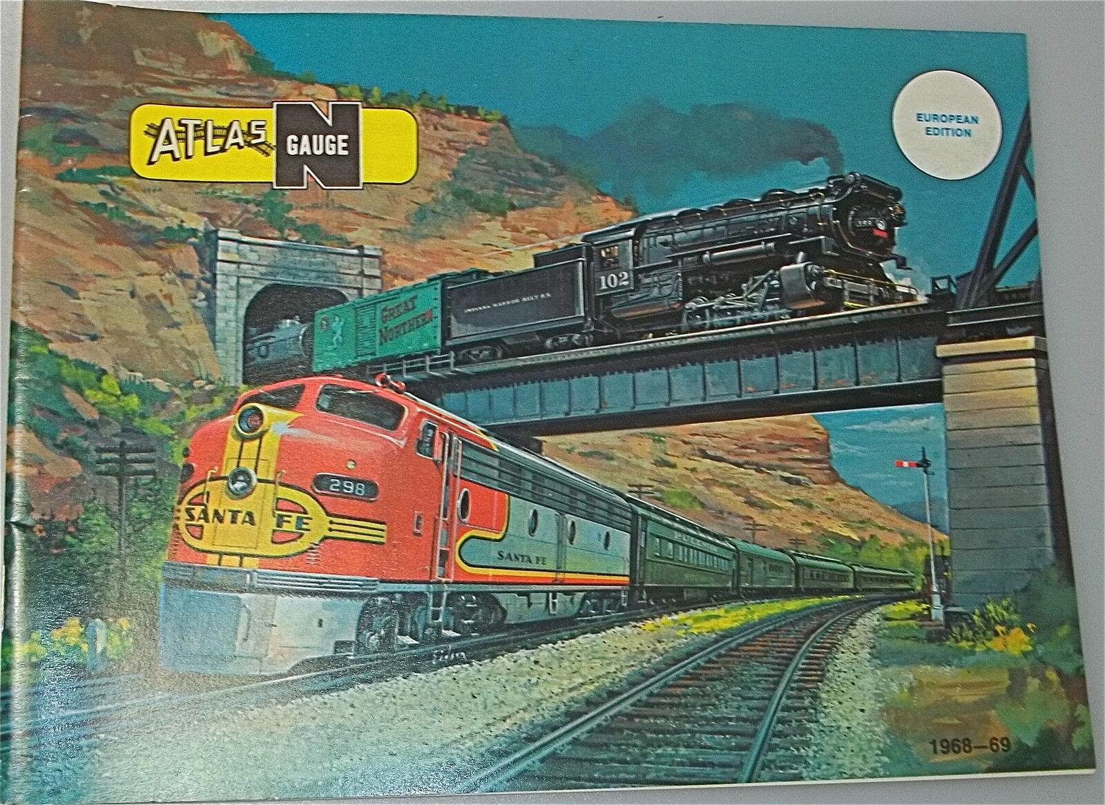 Atlas Scala N Catalogo 1968-69 Å