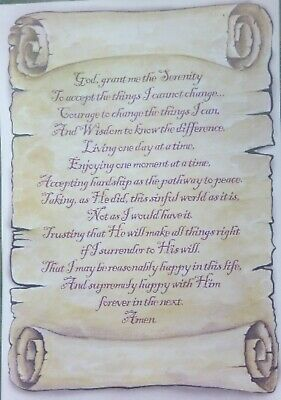 Jesus Christ Trinity Prayer for hope A4 Laminated Poster scroll