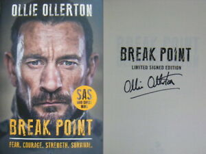 Signed-Book-Break-Point-by-Ollie-Ollerton-SAS-Hdbk-1st-Edn-2019-WHO-DARES-WINS
