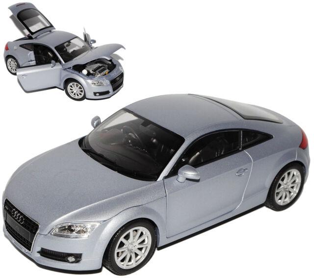 Audi TT 8J Coupe Grau 2 Generation Ab 2006-2014 1//24 Motormax Modell Auto mit..