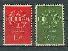 Briefmarken Niederlande 1959 Europa Mi.Nr.735+36