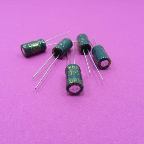 50v 47uf Chong Condensatore elettrolitico Low ESR Genuine ad alta frequenza